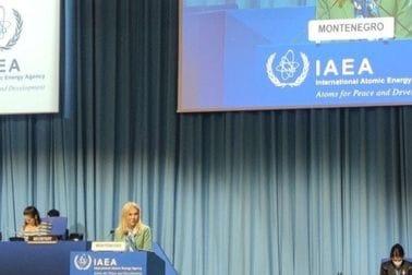 Ministarka prof. dr Vesna Bratić uzela aktivno učešće na Generalnoj konferenciji IAEA