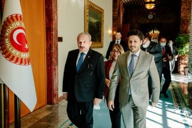 DPM Abazović meets with Speaker of Turkish Grand National Assembly