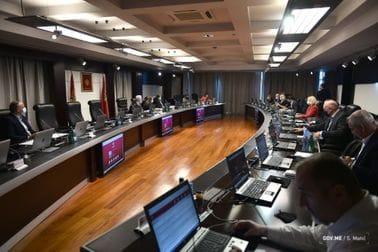 40. sjednica Vlade Crne Gore