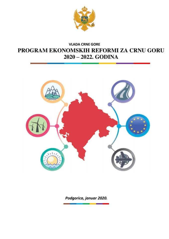 Program ekonomskih reformi Crne Gore 2020-2022