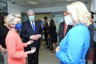 Fon der Lejen ministarki zdravlja: Pohvala za masovno testiranje