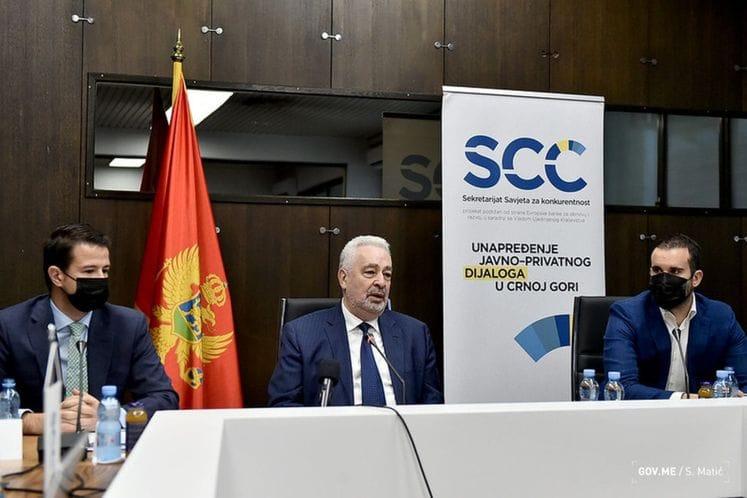 Premijer Krivokapić na sjednici Savjeta za konkurentnost