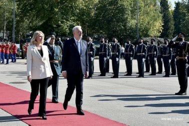 Svečana ceremonija povodom Dana Vojske Crne Gore