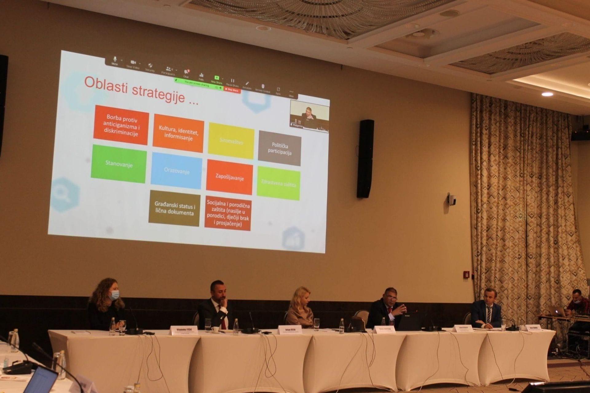 U Podgorici održana Donatorska konferencija o inkluziji Roma i Egipćana