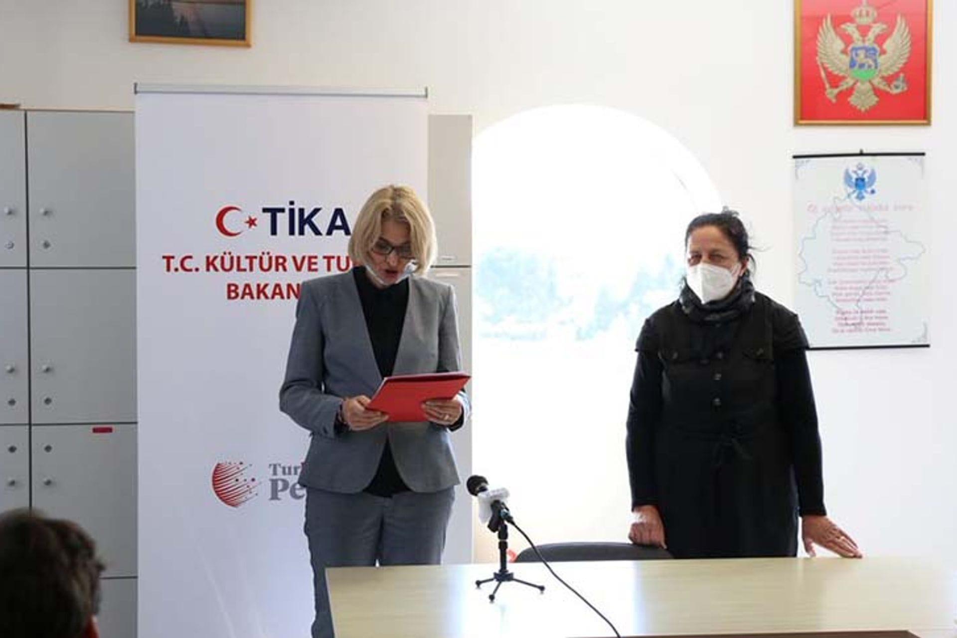 Donacija Turske razvojne agencije TIKA