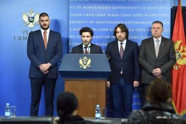 Press konferencija povodom slučaja Belivuk