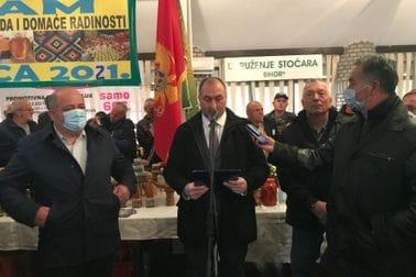 Ministar Stijović otvorio 21. poljoprivredni sajam u Petnjici