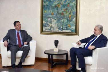 Premijer Krivokapić razgovarao s izraelskim ambasadorom Jahelom Vilanom