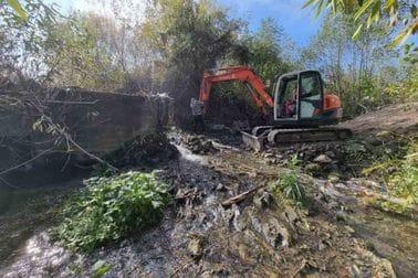 Prvo uklanjanje pregrada iz rijeka u regiji: Vezišnica ponovno slobodna!