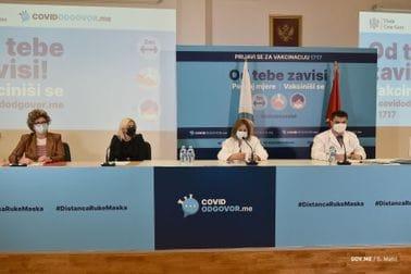 Konferencija za medije povodom trenutne epidemiološke situacije