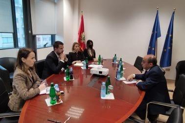 Ministar Milatović i ambasador Egipta