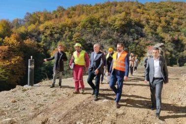 Ministar Mitrović u posjeti jalovištu Gradac