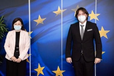 Ministar Sergej Sekulović sastao se sa komesarima Evropske komisije