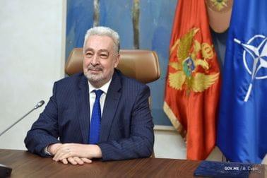 Predsjednik Vlade Zdravko Krivokapić čestitao 28. oktobar - Dan Opštine Herceg Novi