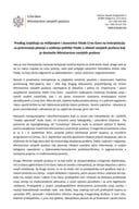 Predlog izvještaja sa mišljenjem i stavovima Vlade Crne Gore na Interpelaciju za pretresanje pitanja u vođenju politike Vlade u oblasti vanjskih poslova